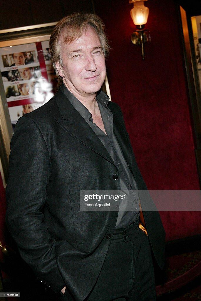 Alan Rickman  : News Photo