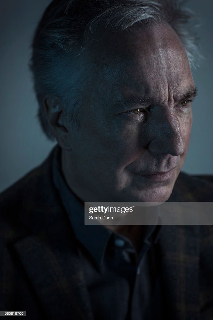 Actor Alan Rickman is photographed for Empire magazine on January 27, 2015 in London, England.