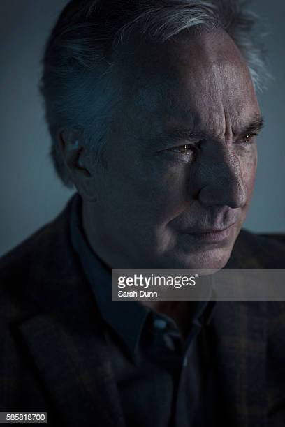 Actor Alan Rickman is photographed for Empire magazine on January 27 2015 in London England
