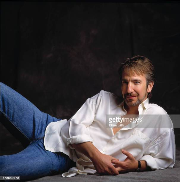 Actor Alan Rickman is photographed for Self Assignment on June 1 2000 in Los Angeles California