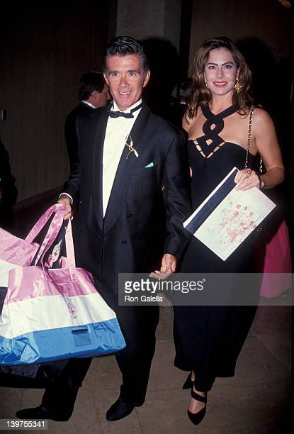Actor Alan Thicke and date Gina Tolleson attending Carousel of Hope Ball Benefit on October 2 1992 at the Beverly Hilton Hotel in Beverly Hills...