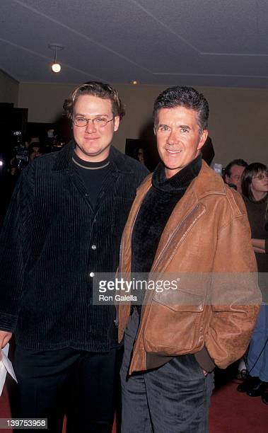 Actor Alan Thicke and son Brennan Thicke attending the premiere of Good Will Hunting on December 2 1997 at Mann Bruin Theater in Westwood California