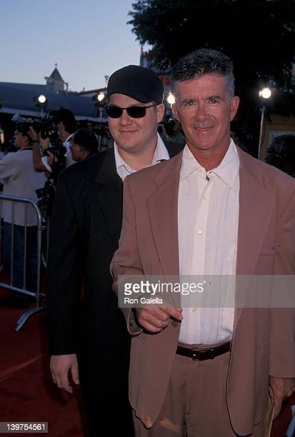Actor Alan Thicke and son Brennan Thicke attending the premiere of Eyes Wide Shut on July 13 1999 at Mann Village Theater in Westwood California