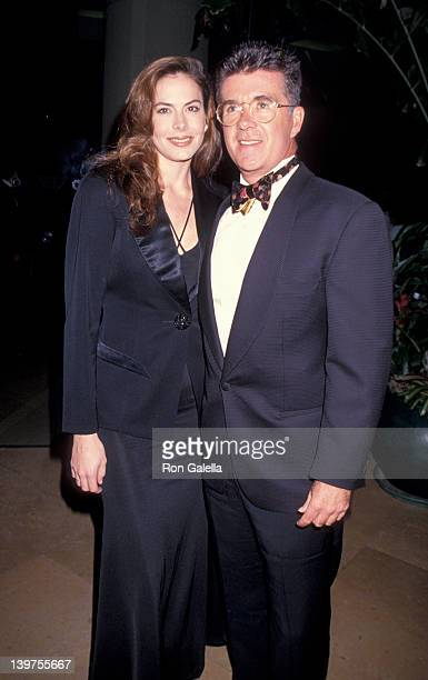 Actor Alan Thicke and wife Gina Tolleson attending 10th Annual American Cinema Awards on February 6 1994 at the Beverly Hilton Hotel in Beverly Hills...