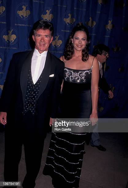 Actor Alan Thicke and wife Gina Tolleson attending 12th Annual Carousel of Hope Ball Benefit on October 25 1996 at the Beverly Hilton Hotel in...