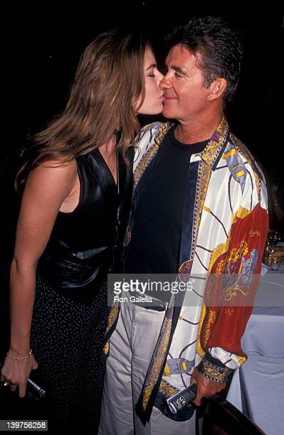 Actor Alan Thicke and wife Gina Tolleson attending Birthday Celebration for Patrick McMullan on September 1 1993 at Tattoo Club in New York City New...