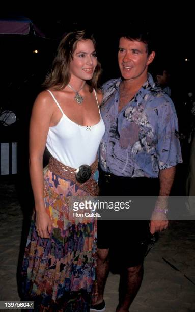 Actor Alan Thicke and wife Gina Tolleson attending Dunn's River Celebrity Sports Invitational on September 29 1993 at Sandal's Resort in Dunn's River...