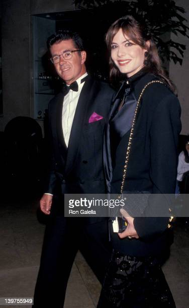 Actor Alan Thicke and wife Gina Tolleson attending Fourth Annual Britannia Awards Honoring Martin Scorcese on December 10 1993 at the Beverly Hilton...