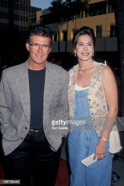 Actor Alan Thicke and wife Gina Tolleson attending the premiere of City Slickers IIThe Legend of Curly's Gold on June 8 1994 at the Academy Theater...