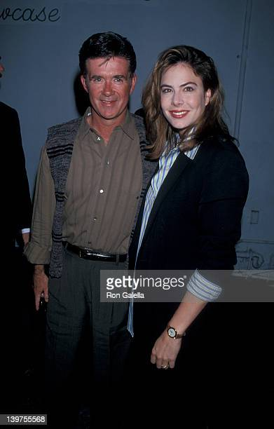 Actor Alan Thicke and wife Gina Tolleson attending the screening of A Comedy Salute to Andy Kaufman on March 20 1995 at the Improvisation in Los...