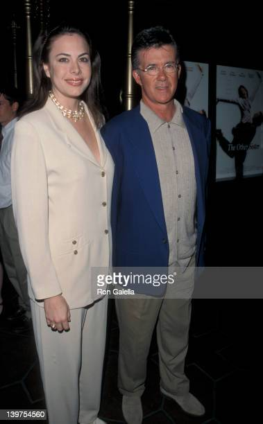 Actor Alan Thicke and wife Gina Tolleson attending the screening of The Other Sister on March 1 1999 at El Capitan Theater in Hollywood California