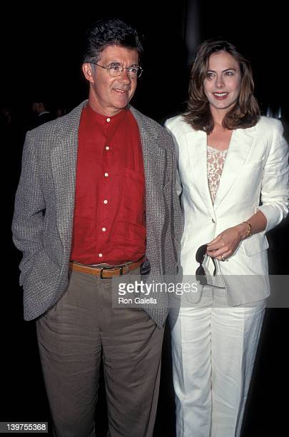 Actor Alan Thicke and wife Gina Tolleson attending the screening of Mystery of Rampo on May 9 1995 at the Director's Guild Theater in Hollywood...
