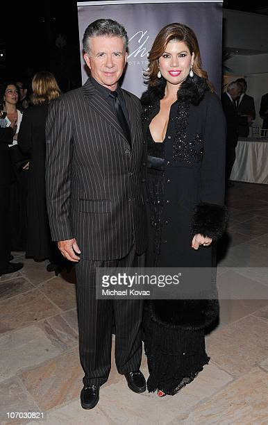 Actor Alan Thicke and wife Tonya Thicke arrive at SBIFF's 5th Annual Kirk Douglas Award For Excellence In Film Ceremony at The Four Seasons Biltmore...