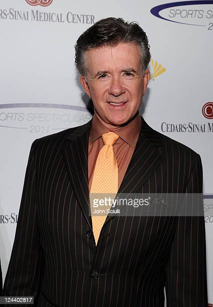Actor Alan Thicke arrives at the 2011 Cedars Sinai Sports Spectacular at Hyatt Regency Century Plaza on May 22 2011 in Beverly Hills California