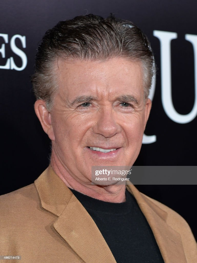 Actor Alan Thicke arrives to the Los Angeles Premiere of Lionsgate Films' 'The Quiet Ones' at The Theatre At Ace Hotel on April 22, 2014 in Los Angeles, California.