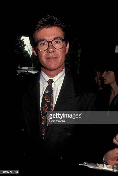Actor Alan Thicke attending 28th Annual Publicist's Guild of America Awards on March 22 1991 at the Beverly Hilton Hotel in Beverly Hills California