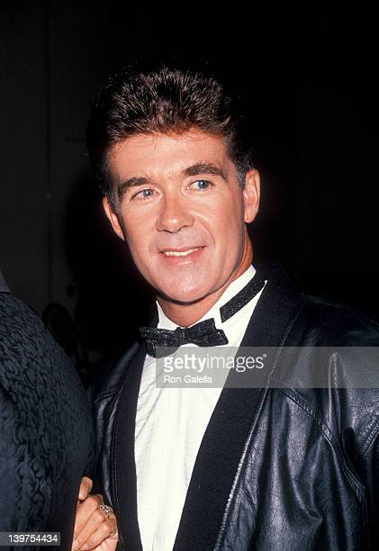 """Actor Alan Thicke attending """"Night of 100 Stars Dinner Gala"""" on May 5, 1990 at the New York Hilton Hotel in New York City, New York."""