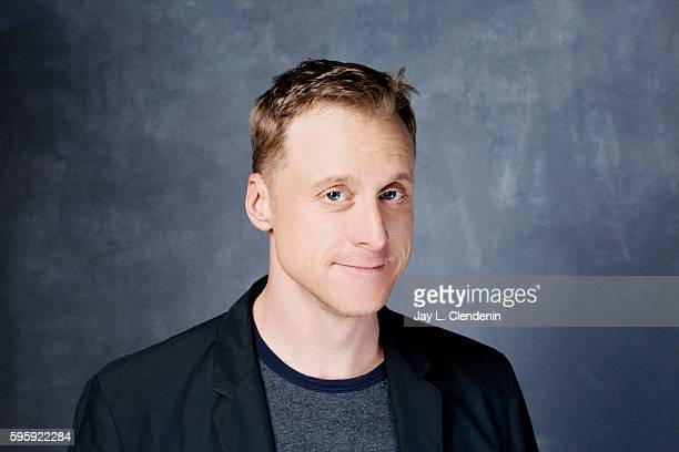 Actor Alan Tudyck of 'Powerless' is photographed for Los Angeles Times at San Diego Comic Con on July 22 2016 in San Diego California