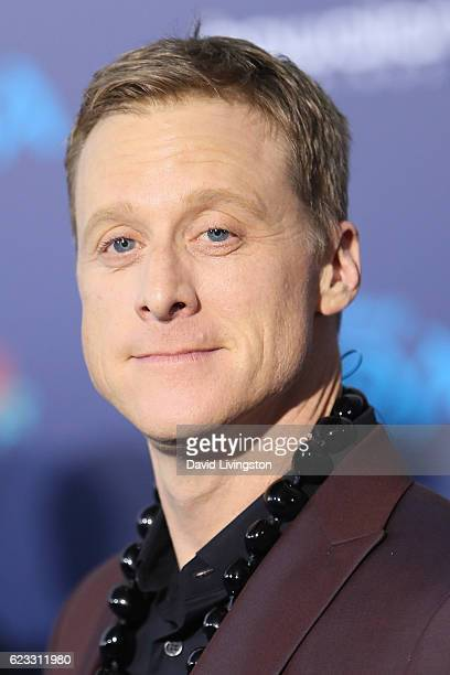 Actor Alan Tudyk arrives at the AFI FEST 2016 presented by Audi premiere of Disney's 'Moana' held at the El Capitan Theatre on November 14 2016 in...