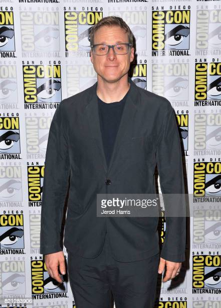 Actor Alan Tudyk at BBC AMERICA'S San Diego ComicCon Press Line with the Stars and Producers of 'Dirk Gently's Holistic Detective Agency' and 'Doctor...