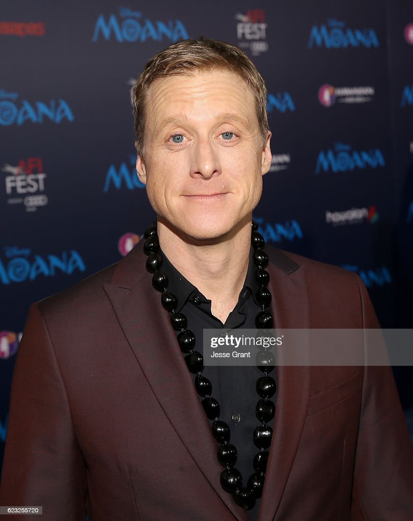 Actor Alan Tudyk attends The World Premiere of Disney's 'MOANA' at the El Capitan Theatre on Monday, November 14, 2016 in Hollywood, CA.