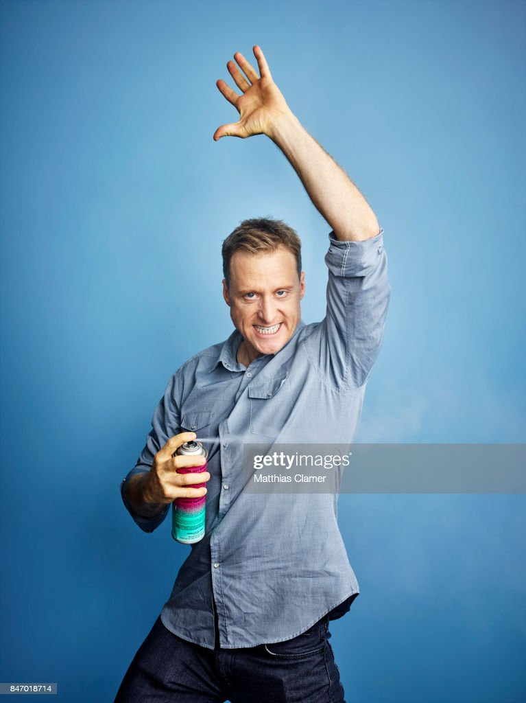 Actor Alan Tudyk from 'Con Man' is photographed for Entertainment Weekly Magazine on July 23, 2016 at Comic Con in the Hard Rock Hotel in San Diego, California. PUBLISHED