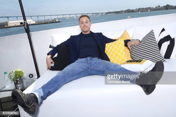 Actor Alan Tudyk on the #IMDboat at San Diego ComicCon 2017 at The IMDb Yacht on July 22 2017 in San Diego California