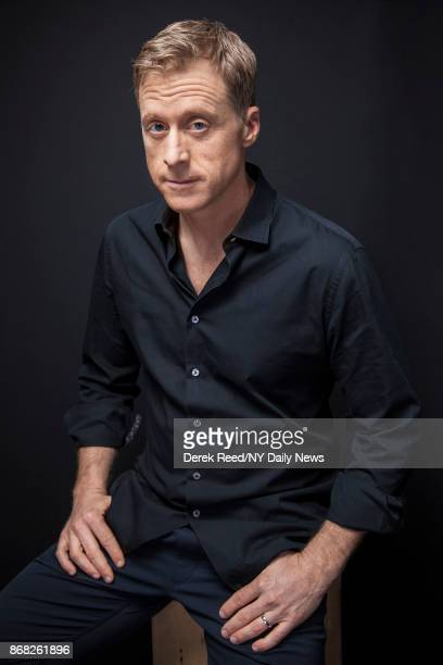 Actor Alan Tudyk photographed for NY Daily News on October 7 in New York City
