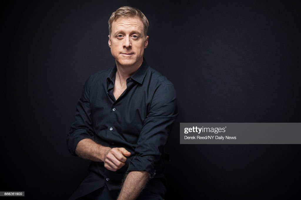 Actor Alan Tudyk photographed for NY Daily News on October 7, 2016, in New York City.
