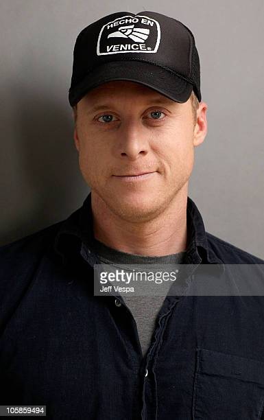 Actor Alan Tudyk poses for a portrait during the 2010 Sundance Film Festival held at the WireImage Portrait Studio at The Lift on January 24 2010 in...