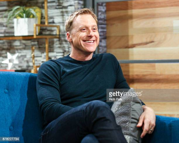 Actor Alan Tudyk visits The IMDb Show on November 9th 2017 in Studio City California
