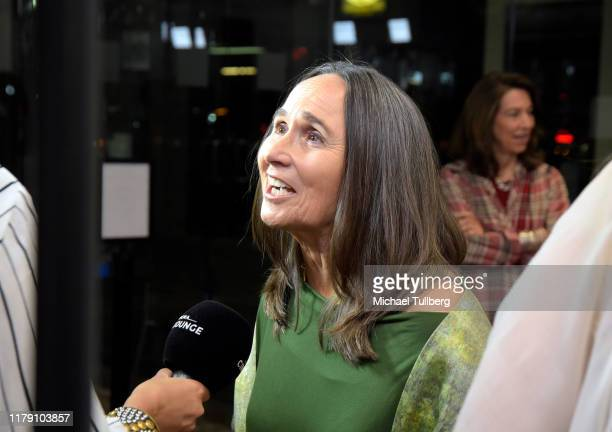 """Actor Alana Lea attends the premiere of the film """"Never Alone"""" at Arena Cinelounge on October 04, 2019 in Hollywood, California."""