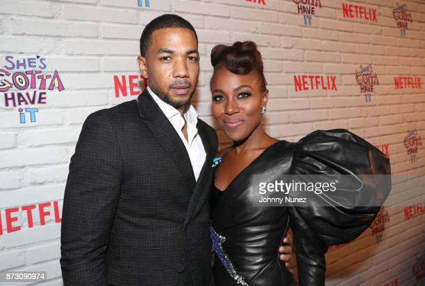 Actor Alano Miller and 'She's Gotta Have It' lead actress DeWanda Wise attend Netflix Original Series 'She''s Gotta Have It' Premiere and After Party...