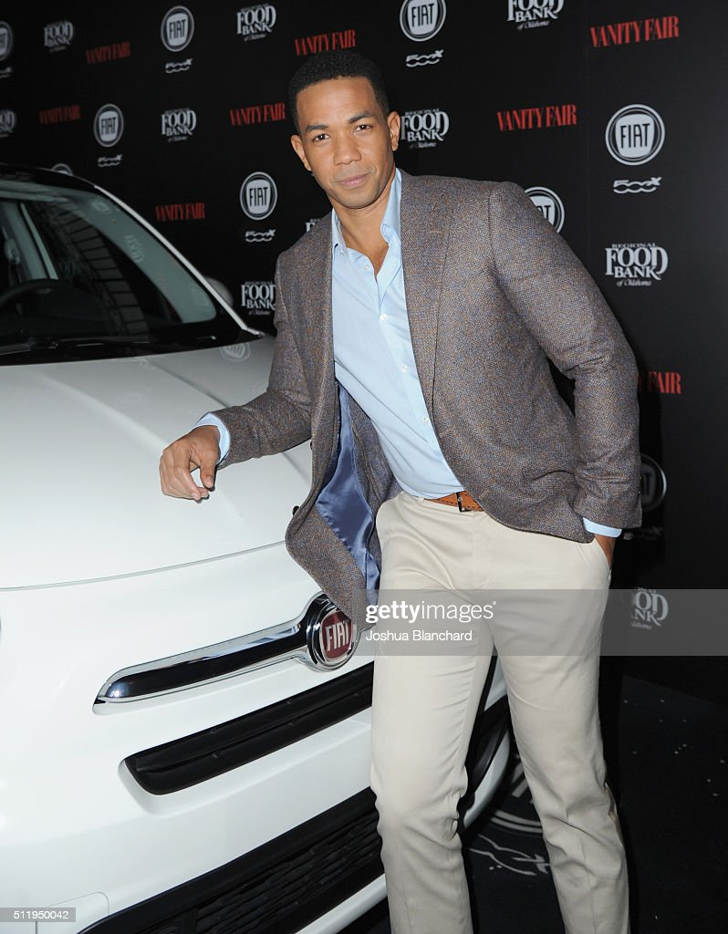 Actor Alano Miller attends Vanity Fair and FIAT Young Hollywood Celebration at Chateau Marmont on February 23, 2016 in Los Angeles, California.