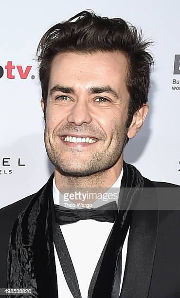"""Actor Albano Jeronimo, Actor of """"Mulheres"""" attend 43rd International Emmy Awards at New York Hilton on November 23, 2015 in New York City."""