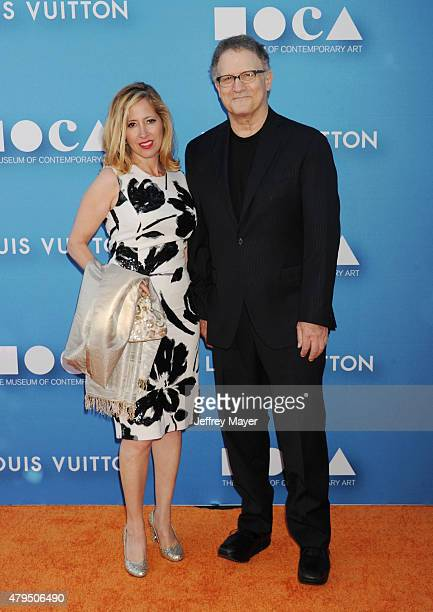 Actor Albert Brooks and artist Kimberly Shlain arrive at the 2015 MOCA Gala presented by Louis Vuitton at The Geffen Contemporary at MOCA on May 30...