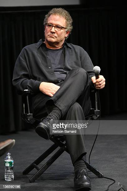 Actor Albert Brooks speaks on stage during An Evening With Albert Brooks Featuring Drive at The Film Society of Lincoln Center Walter Reade Theatre...