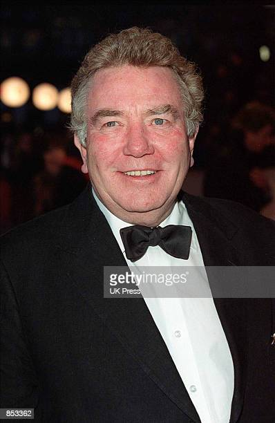 Actor Albert Finney arrives at the British Academy Film Awards February 25 2001 at Odeon Leicester Square in London