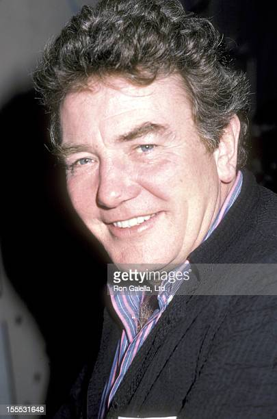 Actor Albert Finney attends the WrapUp Party for the Movie Orphans on November 11 1986 at Libert Cafe South Street Seaport in New York City