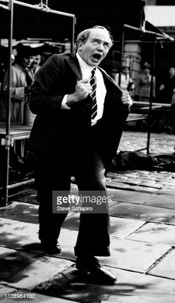 Actor Albert Finney in a scene from the movie 'The Dresser' 1983