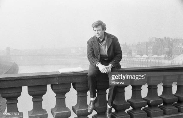 Actor Albert Finney in Glasgow 3rd March 1963