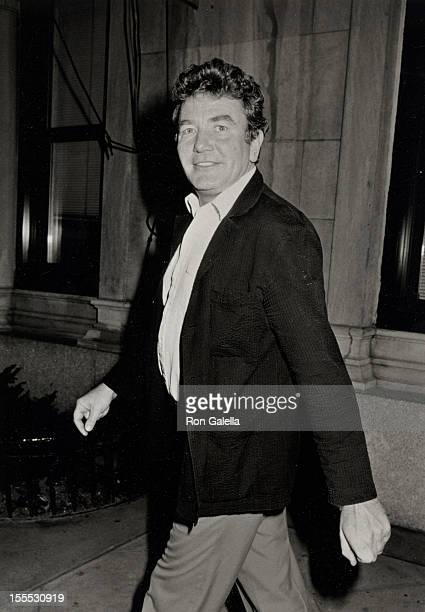Actor Albert Finney sighted on September 15 1986 at the Mayfair Hotel in New York City