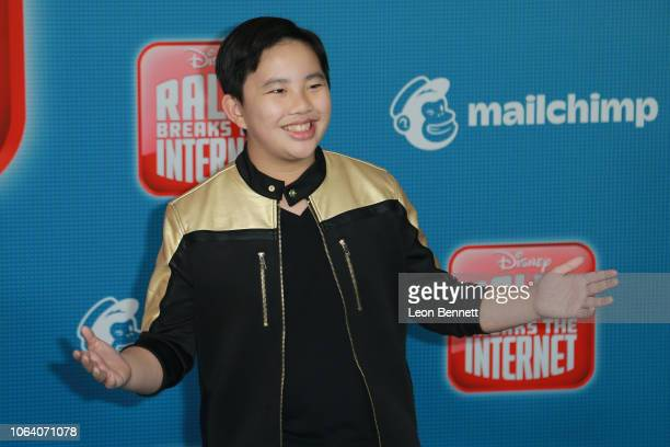 Actor Albert Tsai attends Premiere Of Disney's 'Ralph Breaks The Internet' Arrivals on November 05 2018 in Los Angeles California