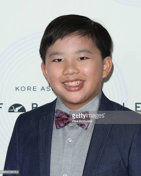 Actor Albert Tsai attends the 16th annual Unforgettable Gala at The Beverly Hilton Hotel on December 9 2017 in Beverly Hills California