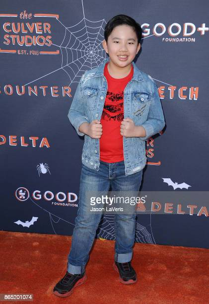 Actor Albert Tsai attends the GOOD Foundation's 2nd annual Halloween Bash at Culver Studios on October 22 2017 in Culver City California