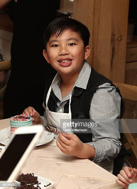 Actor Albert Tsai attends the second season premiere of Amazon Original Series 'Just Add Magic' at Au Fudge on January 14 2017 in West Hollywood...