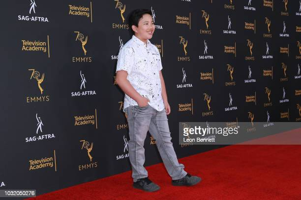 Actor Albert Tsai attends the Television Academy And SAGAFTRA CoHost Dynamic Diverse Emmy Celebration at Saban Media Center on September 11 2018 in...
