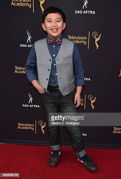 Actor Albert Tsai attends the Television Academy And SAGAFTRA's 4th Annual Dynamic and Diverse Celebration at The Saban Media Center on August 25...