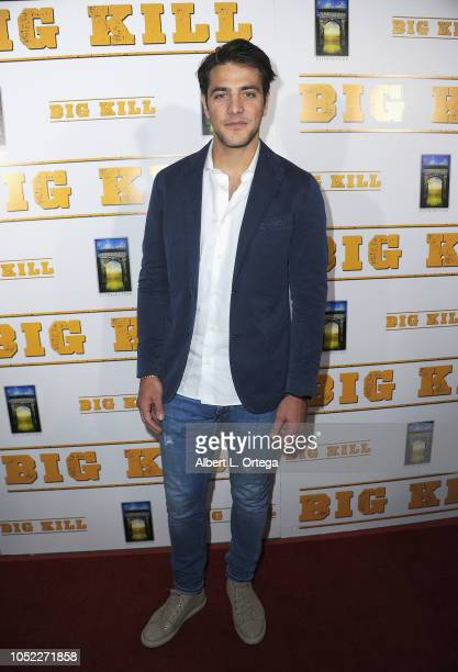 Actor Alberto Frezza arrived for the World Premiere Archstone Distribution's 'Big Kill' Premiere held at ArcLight Hollywood on October 15 2018 in...
