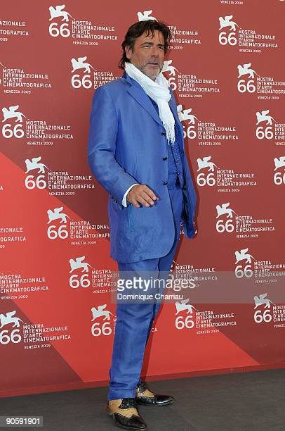 Actor Alberto Petrolini attends Hotel Courbet Photocall at the Palazzo del Casino during the 66th Venice Film Festival on September 11 2009 in Venice...